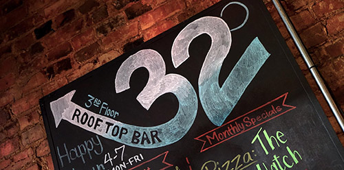 32 Degrees Bar Sets Atop Urban Crust - Best Restaurants in Plano