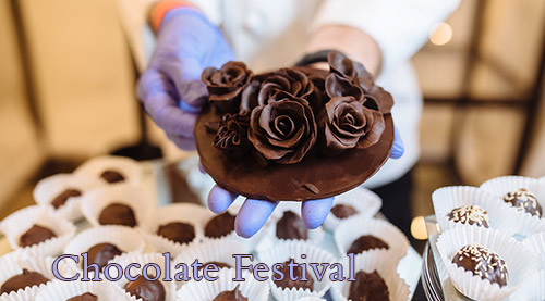 Best Restaurants in Plano - Foodies Chocolate Festival Rose