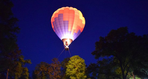 Best Restaurants in Plano - Community Tethered Hot Air Balloon Rides- Rohr Hot Air Balloons