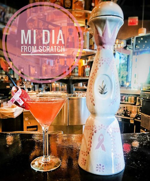 Best Restaurants in Plano - Mi Dia Fights Breast Cancer - October BC Awareness